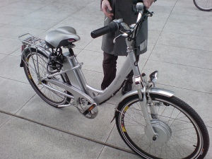an electric bike